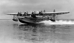A Pan American Sikorsky S-42 flying boat taking off. (Photo by US Navy)