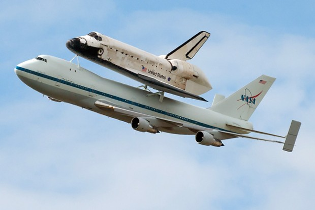 Where to Watch Space Shuttle Enterprise Fly Over New York ...