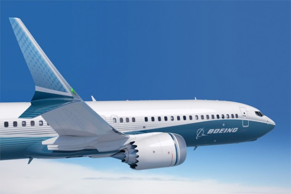 Rendering of a Boeing 737-9 MAX with the new Advanced Technology Winglet. (Image by Boeing)