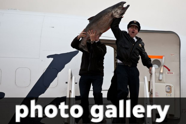 Alaska Copper River Salmon Cook Off Photos