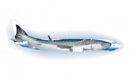 Artist rendering of the new Salmon Thirty Salmon jet.