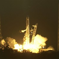 A SpaceX Falcon 9 rocket lifts off from Cape Canaveral. (Photo by NASA TV)