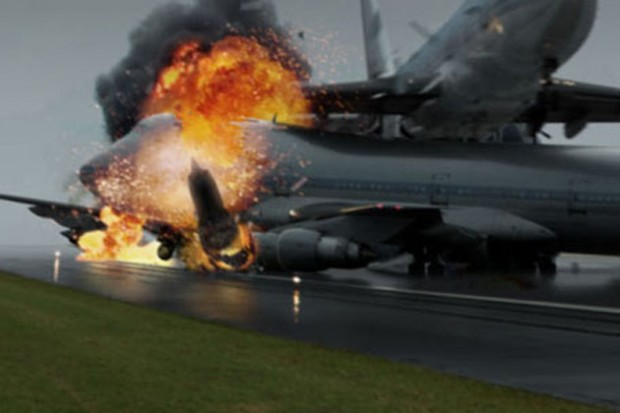 Image result for AIR CRASHES PLANES COLLIDED LANDING ON RUNWAYS
