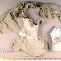 This underwear bomb failed to take down a Northwest Airlines Airbus A330, but did succeed in burning its owner's genitals. (Photo by FBI, via ABC News)