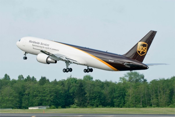 UPS's 50th Boeing 767-300 Freighter, N382UP. (Photo by Boeing)