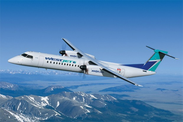 Westjet Orders 45 Bombardier Q400 Turboprops For New