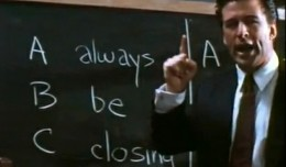Always Be Closing.