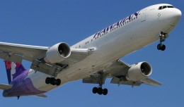Hawaiian Airlines Boeing 767-300ERs like this one will begin flying to Brisbane in November. (Photo by Phil Derner Jr)