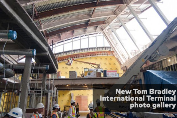 Click for more New Tom Bradley International Terminal photos