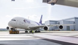 Thai Airways first Airbus A380 (HS-TUA, ln 0087). (Photo by Airbus)