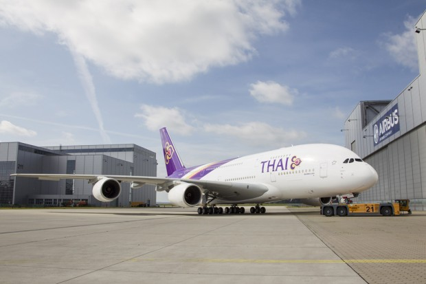 Thai Airways First Airbus A380 HS-TUA 0087