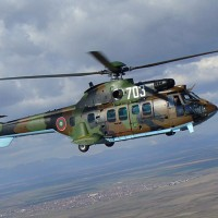 Eurocopter AS532 Cougar operated by the Bulgarian Army. (Photo by Martin777 via wikipedia)