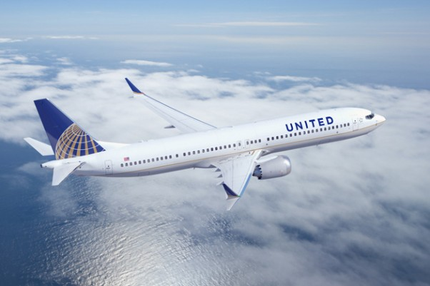 United Airlines Boeing 737 MAX 9. (Image by Boeing)