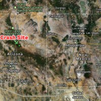 The Eurocopter AS350 crashed just south of Camp Verde, Arizona. (Map by Google Maps/Matt Molnar)