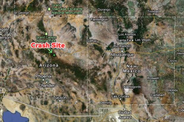 Map Of Just Arizona.Arizona Helicopter Crash Kills 4 Including Restaurant Ceonycaviation