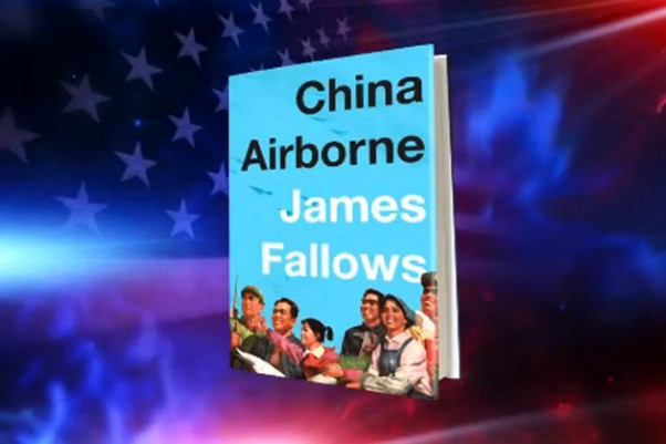 China Airborne book cover on Colbert Report