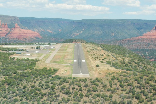 Sedona Airport overview. (Photo by Shane Torgerson via Wikipedia)