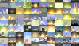 Space Shuttle launches grand finale