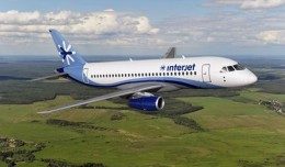 Interjet SuperJet SSJ100.
