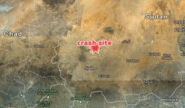 Sudan Helicopter Crash Map. (Map by Google Maps/Matt Molnar)