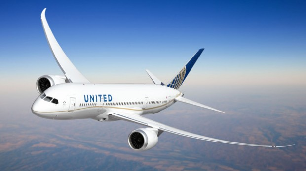 United Airlines Boeing 787-8 Dreamliner livery. (Image by United Airlines)