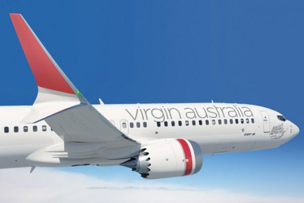 Virgin Australia Boeing 737 MAX 8. (Image by Boeing)