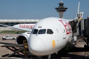 Ethiopian 787 DC to Addis