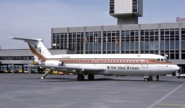 "British Island Airways BAC One-Eleven (G-AXBB ""Island Entente"") seen at Basle, France. (Photo by Eduard Marmet, via Wikipedia)"