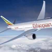 Ethiopian Airlines Boeing 787-8 Dreamliner. (Rendering by Boeing)