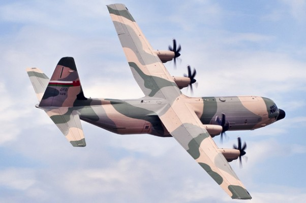 First Oman C-130J Super Hercules. (Photo by Lockheed Martin/John Rossino)