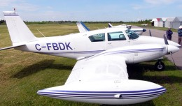 Piper PA-30 similar to the one that crashed in British Columbia.
