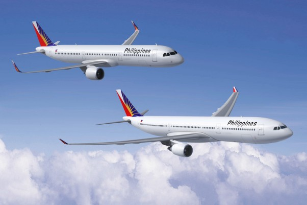 Philippine Airlines major fleet modernisation will be based on the carriers acquisition of 44 single-aisle Airbus jetliners (consisting of 34 A321ceo and 10 A321neo versions), along with 10 widebody A330-300s. (Image by Airbus)
