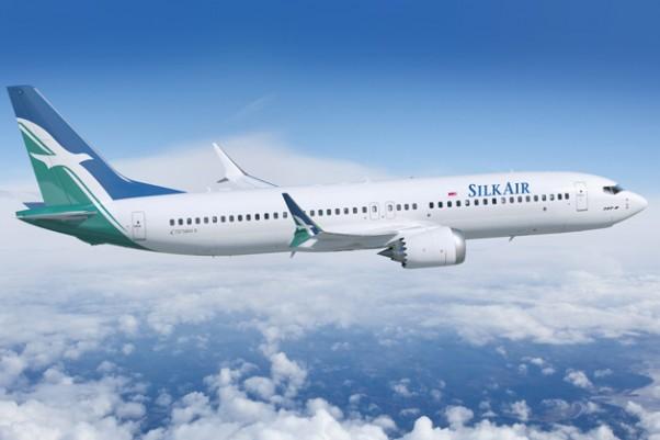 SilkAir Boeing 737 MAX 8. (Rendering by Boeing)