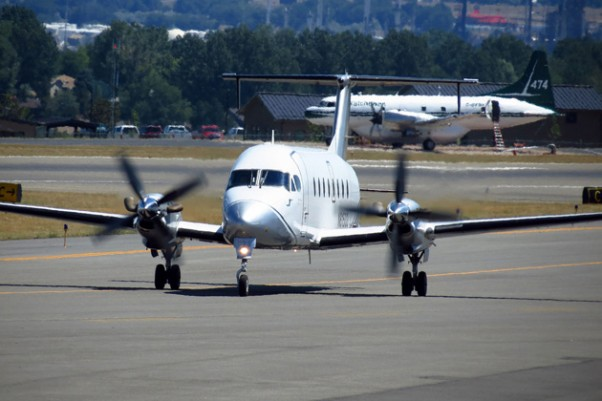 Silver Airways Beechcraft 1900D (N81533) spotted at Billings, Montana. (Photo by redlegsfan21 via Flickr)