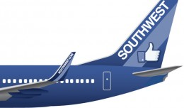 Southwest Zuckerbird 737. (Image by Southwest Airlines)