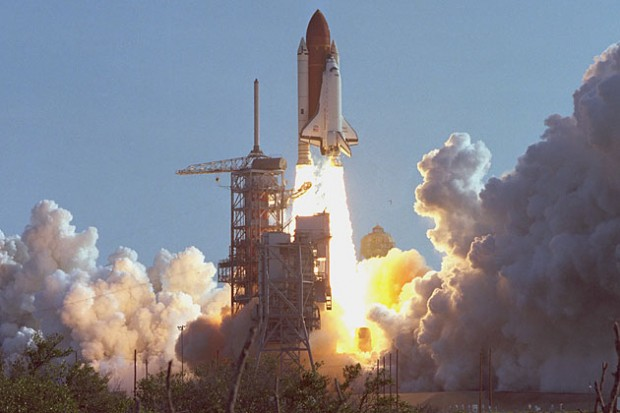 Space Shuttle Discovery First Flight: August 30 in ...