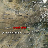 The helicopter crashed in Afghanistan's Logar province, south of Kabul. (Map by Google Maps/NYCAviation)