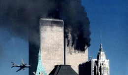 United Flight 175 impacts the World Trade Center on September 11, 2001.