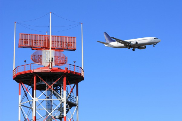 Air traffic control radar. (Photo by Photodune)