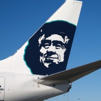 Alaska Airlines Boeing 737 eskimo tail. (Photo by Alaska Airlines)