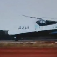 An Azul ATR 72 loses control in southern Brazil.