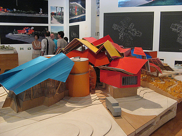 Model of the Biomuseo. (Photo by Michael Sean Gallagher via Flickr, CC-BY-SA)