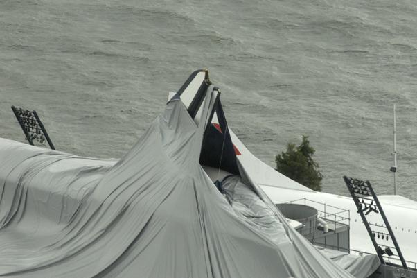 space shuttle enterprise damaged - photo #8