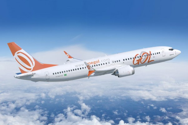 Gol Boeing 737-8 MAX. (Image by Boeing)