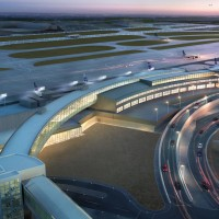 Rendering of JetBlue's new JFK Airport T5i. (Image by JetBlue)