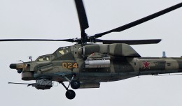 Russian Mil Mi-28 demo flight at MAKS 2007. (Photo by    via Wikipedia)