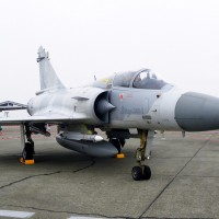 A Republic of China (Taiwan) Air Force Dassault Mirage 2000-5 fighter jet. (Photo by  via Wikipedia, CC-BY-SA)