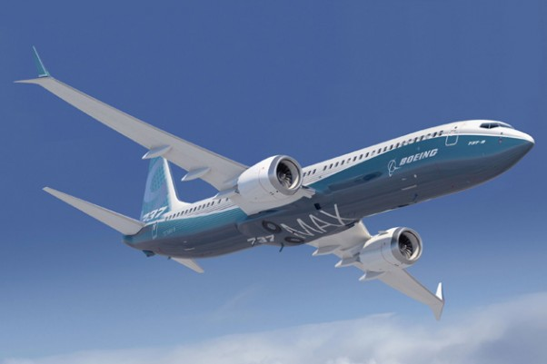 The Boeing 737 MAX loses its nose bump in new renderings. (Rendering by Boeing)