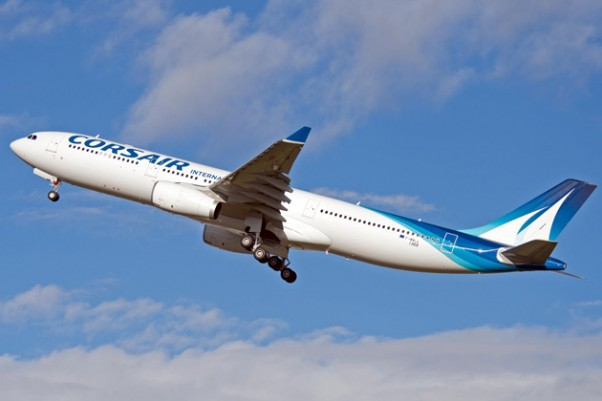 Corsair's first Airbus A330-300 (F-HSKY). (Photo by P. Pigeyre/Airbus)