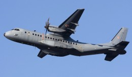 A Polish Air Force EADS CASA C-295, the same model as the downed Algerian Air Force plane. (Photo by Chris Lofting via wikimedia)